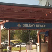Photo taken at Tri-Rail - Delray Beach Station by Pico on 11/25/2012