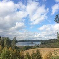 Photo taken at Pulgošņa ezers by Sintija S. on 9/23/2016