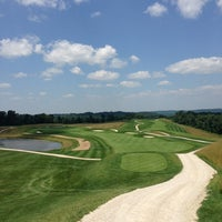 Photo taken at The Pete Dye Course at French Lick by Patrick M. on 7/11/2013