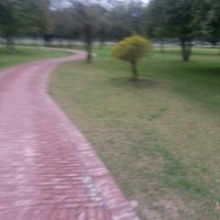 Photo taken at Model Town Park by Naveed S. on 2/23/2013