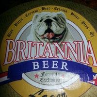 Photo taken at Britannia Pub by Pati A. on 4/18/2013