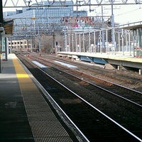 Photo taken at Stamford Transportation Center : Bus/Train (STM) Metro North & Amtrak by Dana on 3/31/2013