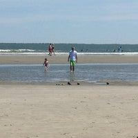 Photo taken at Sullivan's Island by Laura Z. on 5/25/2013