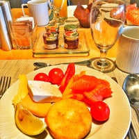 Photo taken at Breakfast @Hilton by Anna . on 5/4/2016