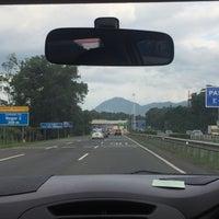 Photo taken at Gerbang Tol Bogor by Rika D. on 2/17/2018