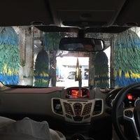 Photo taken at Bali Wisata Automatic Car Wash by Rika D. on 8/8/2017