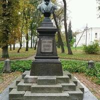 Photo taken at Памятник Пушкину А.С. by Юрий Ю. on 10/14/2016