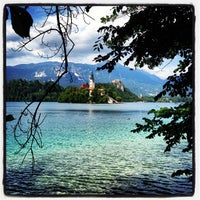 Photo taken at Bled by Sharif E. on 7/3/2013