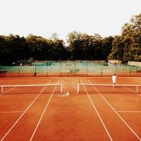 Photo taken at Alexx Tennis am Tivoli by Alexis B. on 6/28/2013