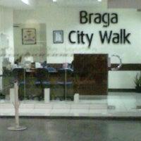 Photo taken at Marketing Office Braga CityWalk by Reza W. on 11/4/2012