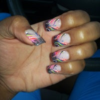 Photo taken at Luxe Nails by 👸🏽Queen L. on 7/6/2013