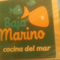 Photo taken at Baja Marino Container City by Alex C. on 10/3/2012
