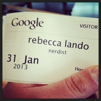 Photo taken at Google YouTube by rebecca l. on 1/31/2013
