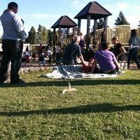 Photo taken at Parque de los Niños by Clara D. on 4/7/2013