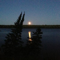 Photo taken at Grand Sable Lake Scenic Overlook by Rachel B. on 7/24/2013