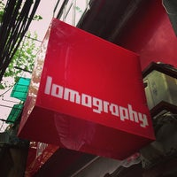 Photo taken at Lomography Gallery Store Shanghai by Nicky K. on 4/16/2013