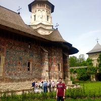Photo taken at Biserica Mânăstirii Moldovița by David🍹 on 6/18/2016