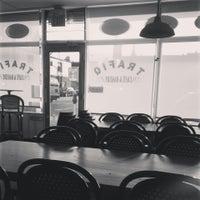 Photo taken at Trafiq Café & Bakery by Petra B. on 4/25/2013