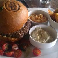 Photo taken at Domyno Burger Bar by Zdenek on 9/26/2012