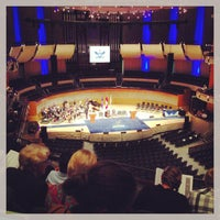 Photo taken at Francis Winspear Centre by Rico E. on 6/21/2013