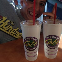Photo taken at Tropical Smoothie Cafe by Morgan G. on 10/17/2012