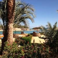 Photo taken at Sheraton Miramar Resort El Gouna by Dianochka on 1/6/2013