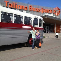 Photo taken at Tallinn bus station by Anna Z. on 6/30/2013