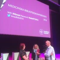 Photo taken at Aula Medica KI by Guus v. on 4/21/2016