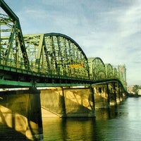 Photo taken at Interstate Bridge by Justin Y. on 9/29/2012