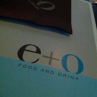 Photo taken at E+O Food And Drink by Katrina N. on 6/24/2013