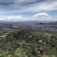 Photo taken at Volcán teuhtli by Santiago A. on 6/18/2016