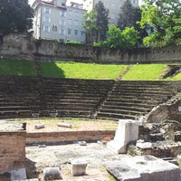 Photo taken at Teatro Romano by Sergio C. on 5/26/2013