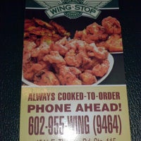 Photo taken at Wingstop by Jessica A. on 8/2/2013