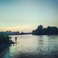 Снимок сделан в Оболонский пляж пользователем Pavel L. 6/21/2013