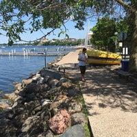 Photo taken at Howard M. Temin Lakeshore Path by Cyrus R. on 6/3/2016