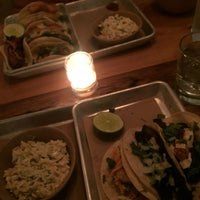 Photo taken at bartaco Hyde Park by Elise E. on 10/25/2017