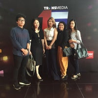 Photo taken at PT. Televisi Transformasi Indonesia (Trans TV & TRANS7) by Dellawati W. on 12/15/2016