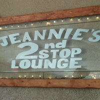 Photo taken at Jeannies second stop by Maria A. on 3/6/2013