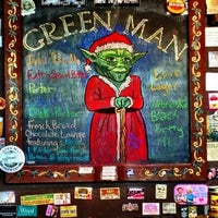 Photo taken at Green Man Brewery by E D. on 12/17/2012