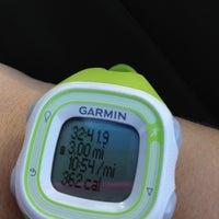 Photo taken at Beale Running Trail by Lauren C. on 10/28/2012