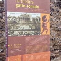 5/12/2014にMansour H.がThéâtre Gallo-romain de Lillebonneで撮った写真