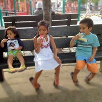 Photo taken at Hoyt Playground by Percy D. on 7/31/2013