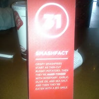 Photo taken at Smashburger by Sherry G. on 3/16/2013