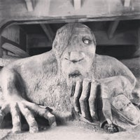 Photo taken at The Fremont Troll by Royce Winchester M. on 6/16/2013