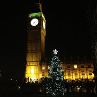 Photo taken at Houses of Parliament by John P. on 12/21/2012