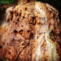Photo taken at The Red Waterfall by David M. on 6/24/2013