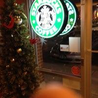 Photo taken at Starbucks by Patrick K. on 12/9/2012