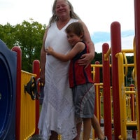 Photo taken at Ian's Playground - Bucksport Recreational Facility by Dannie G. on 8/22/2014