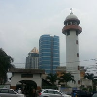 Photo taken at Masjid Al Maghfiroh by Dhies Asgar on 6/27/2014