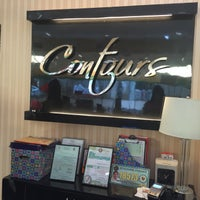 Photo taken at Contours by Diana Rose D. on 1/20/2016